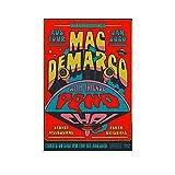 WEICHAO Mac Demarco Australien Tour-Poster,