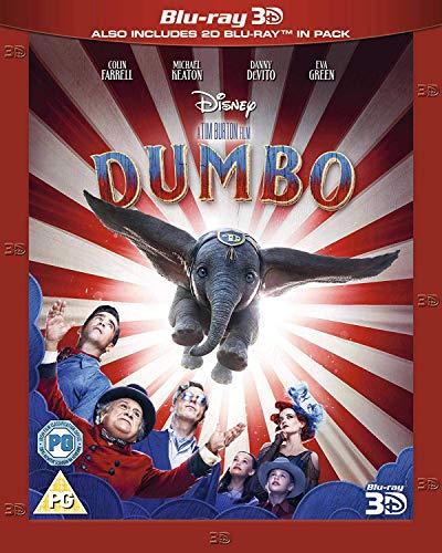 Disney's Dumbo Live Action [3D Blu-ray] [2019] [Region Free]