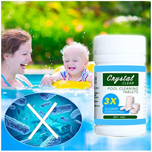 Lowest Price! Pool Clear Water Tablets | Swimming Pool Self-Dissolving Cleaning Tablet | Swim-Safe C...