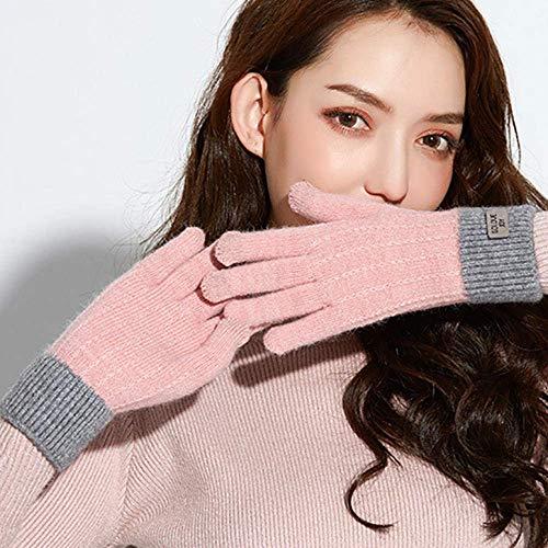 PXX Handschoenen Vrouwen Leuke Speel Mobiele Telefoon Warm Handschoenen Zacht Katoen Winter Handschoenen Volledige Vinger Guantes Vrouw