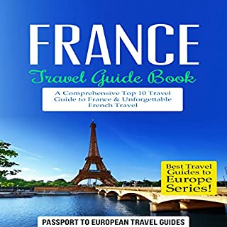 France Travel Guide Book cover art