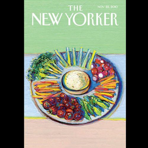 The New Yorker, November 22nd 2010 (Laura Shapiro, Burkhard Bilger, Colm Toibin) cover art