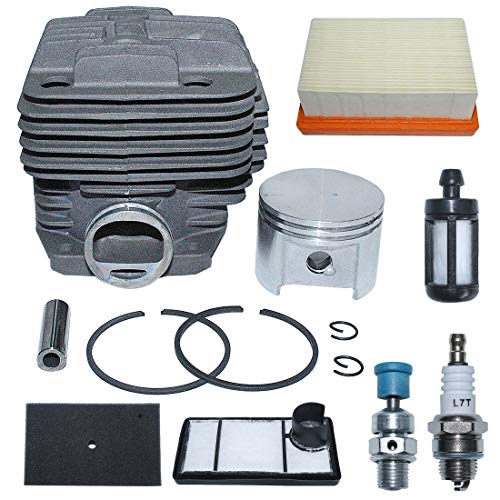 AUMEL 49mm Cylinder Air Fuel Filter Kit for Stihl TS400 Concrete Cut-Off Saw Replace 4223 020 1200.