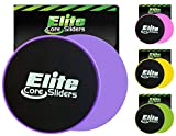 Elite Sportz Sliders for Working Out, 2 Dual Sided Gliding Discs for...