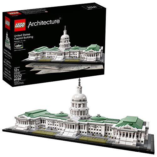 LEGO Architecture United States Capitol Building Kit review