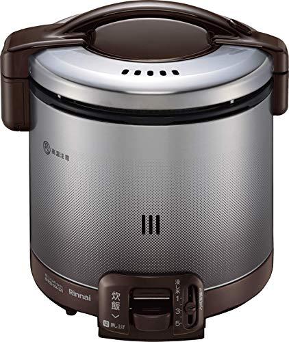 リンナイ ガス炊飯器 「こがまる」 5合 RR-050FS(DB) ブラウン 都市ガス用 RR-050FS(DB)/13A