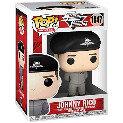 Funko Pop Movie : Starship Troopers - Johnny Rico 3.75inch Vinyl Gift for Horror Movie Movie Fans...