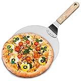 Home Kitcthen Pizza Peel Paddle Rotonda Torta Pala Strumenti di Cottura Manico in Legno per Cottura su Pizza Pietra Forno & Grill
