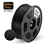 "【With high heat tolerance】 Carbon The fiber has a very high ratio of strength and weight and is extremely stiff. 【Better dimensional stability】 Enotepad carbon fiber PLA filament has better dimensional stability so as not to ""warp"" when printing (ben..."