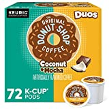 Medium roast coffee with the taste of coconut-topped chocolate donut Extra bold (contains more coffee than regular K-Cup pods) Medium roast, caffeinated coffee no artificial ingredients and certified Orthodox Union Kosher (U) Compatible with Keurig K...