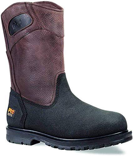steel toe wellington boot