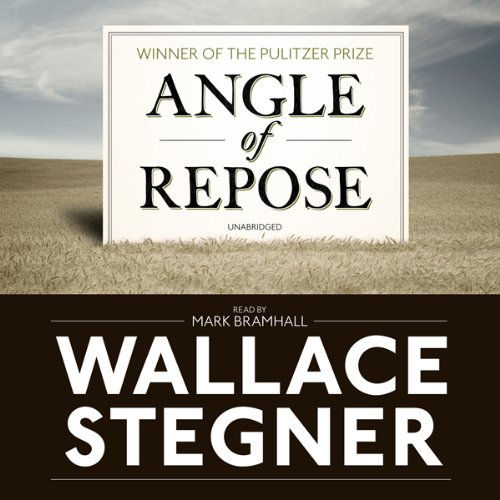 Angle of Repose audiobook cover art