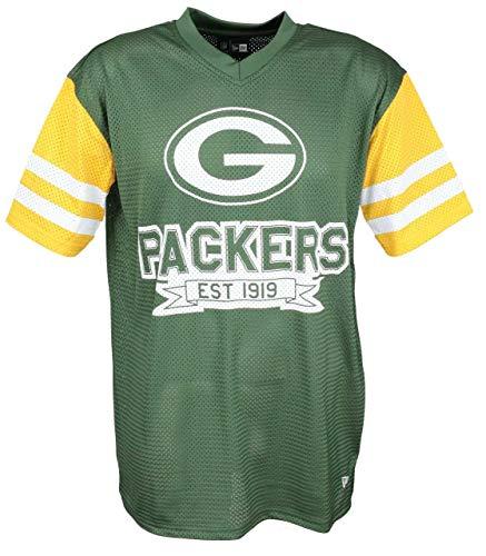 New Era Green bay Packers T Shirt NFL Jersey American Football Fanshirt Gr?n - XXL