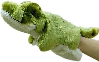 دمية يد على شكل ديناصور مارينيت جلوف دمى مسرحية دمى قطيفة قصص دمية للتحدث مساعدة تعليمية لطيفة للأطفال (اللون: 9) ديتازي
