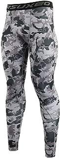 ARSUXEO Men's Compression Tights Running Pants Baselayer Legging K3