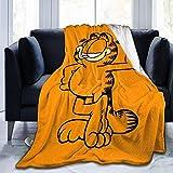Manta de forro polar de franela ultra suave y cálida, manta ligera, decoración de viaje, estilo 2-50'x40