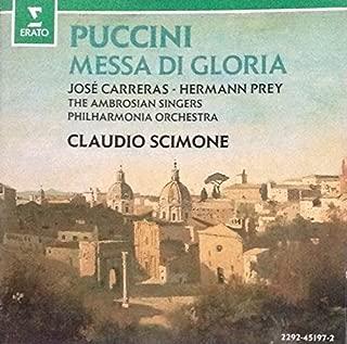 Giacomo Puccini - Messa Di Gloria Carreras Prey Erato