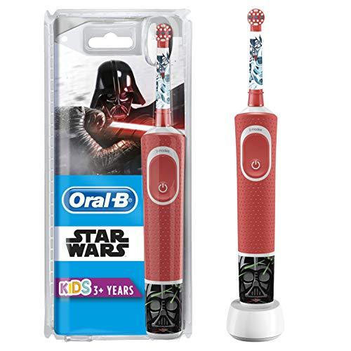 Oral-B Kids Spazzolino Elettrico Ricaricabile 1 Manico con Personaggi di Star Wars per Etàda 3 Anni