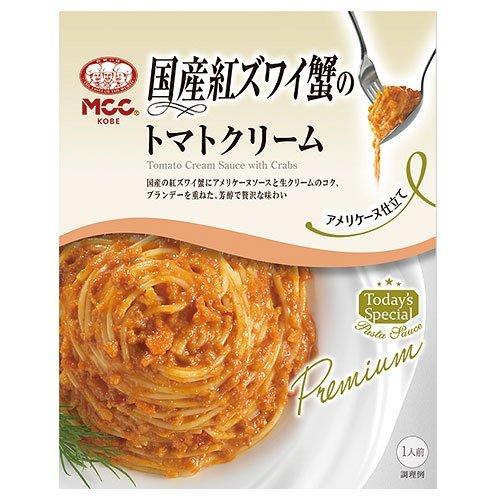 MCC 国産紅ズワイ蟹のトマトクリーム 130g B01H39N714 1枚目