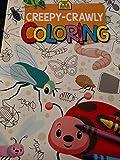Creepy-Crawly Coloring Book