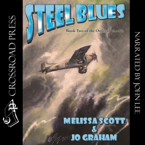 Steel Blues audiobook cover art