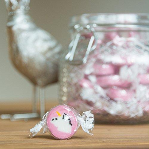 Unicorn Rocks Bonbons – de eenhoorn-snoepjes – ook als leuke tafeldecoratie voor feestjes en bruiloften