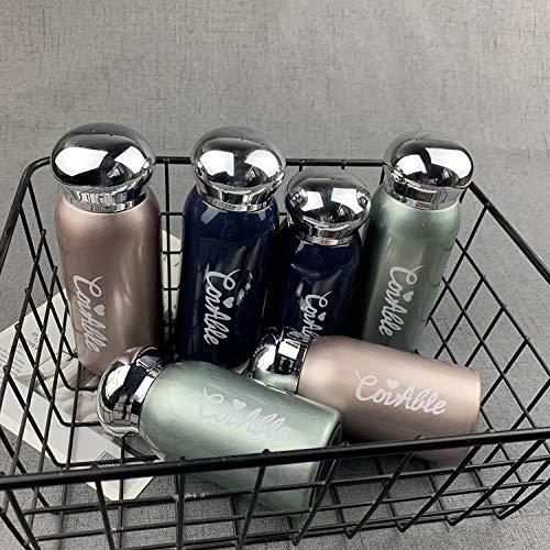 Botella Agua Acero Inoxidable Termo Reutilizable, cantimplora termica sin BPA Termo Caliente Aislamiento de Vacío de Doble Pared para para Cafe ,Té,Beber Bebidas termos