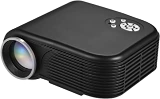 Festnight Portable LED Mini Movie Projector 1080P Supported 30-100 Inch Projection Size with AV/VGA/USB/TF/HD Input Ports ...