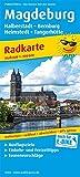 Magdeburg, Halberstadt - Bernburg, Helmstedt - Tangerhütte: Radkarte mit Ausflugszielen, Einkehr- & Freizeittipps, wetterfest, reissfest, abwischbar, GPS-genau. 1:100000 (Radkarte: RK)