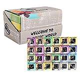 Mysta 24 Stück Knobelspiele Set, 3D Metall Puzzle, Entwirrung Puzzles Set IQ Spielzeug, Ideal Spielzeug und Geschenk für Junge und Mädchen, für Kinder Erwachsene Ideen Adventskalender