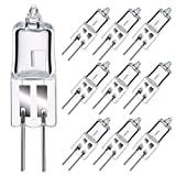 GMY Ampoules Halogènes G4 10W 12V 2800K Blanc Chaud Dimmable 10 Pack