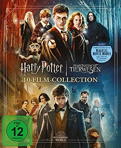 Wizarding World 10-Film-Collection - Jubiläums-Edition [Blu-ray]
