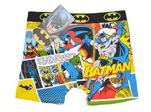 Disney Offizielle Marvel Heroes Ironman Spiderman Batman Star Wars Cars Planes Minions Baumwolle Rich Trunks Boxershorts Gr. 122 cm, Design 6