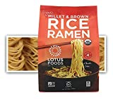 Lotus Foods Organic Gluten-Free Millet & Brown Rice Ramen Noodles, 10 oz, 6Count