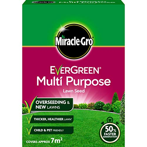 Miracle-Gro 119611 EverGreen Multi Purpose Lawn Seed 210g - 7m2