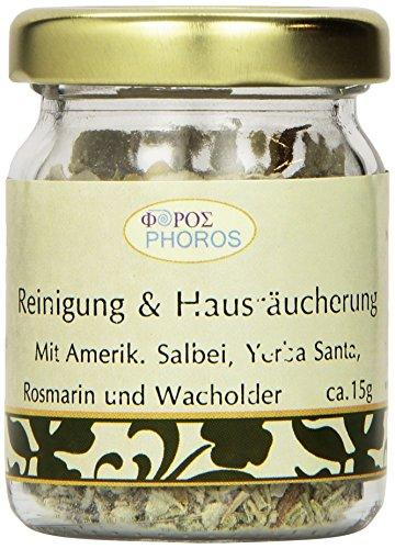 REINIGUNG & HAUSRÄUCHERUNG Räucher-Mischung ca.50ml ca.15g, Marke: Phoros