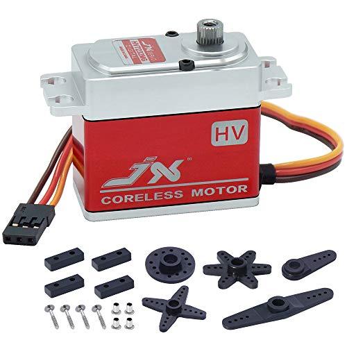 JX Servo PDI-HV7232MG Waterproof 32KG High Precision Metal Full CNC Digital Coreless Standard for RC Helicopter DIY Accessories