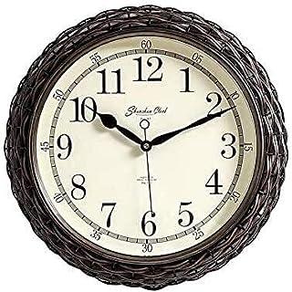 Kejing ساعة صامتة الزخرفية على مدار الساعة، ساعة صامتة بسيطة سهلة القراءة للمنزل/المكتب/المدرسة/المطبخ/غرفة نوم/غرفة المعي...