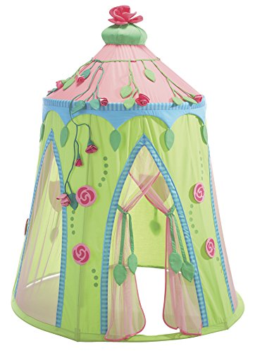 HABA Rose Fairy Roomy Indoor Play Tent - Stands 75 Inches Tall