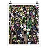 Bilderwelten Poster Wanddekoration Schwimmender Markt