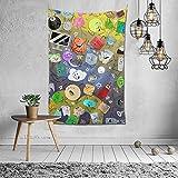 YeeATZ Battle for Bfdi Tapestry - Tapiz de pared (60 x 100 cm), diseño de anime