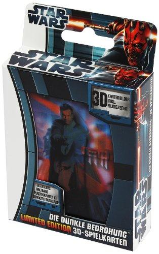 Ass Altenburger 22579170 - Spielkarten Star Wars mit 3D-Effekt