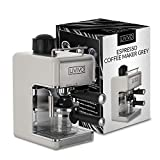 LIVIVO Coffee Maker Machine 2020 Model with Milk Frothing Arm for Cappuccino, Espresso and Filter Ideal for Home and Office (Grey)