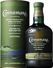 Connemara Original Peated Single Malt Whiskey Irlandais, Single Malt Tourbé (1 x 0.7l)