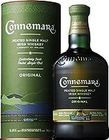 Single Malt irish whiskey tourbé La saveur tourbée du Connemara est riche, corsée, avec la rondeur typique des whiskeys irlandais Un whisky de la marque Kilbeggan Distilling Company, fondée en 1757 Distillé, affiné et mis en bouteille en Irlande par ...