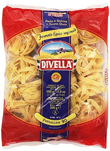 Divella - Fettuccine 90, Pasta di Semola di Grano Duro , 500 g