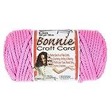 Bonnie Bastelschnur, 6 mm, für Makramee und andere Handarbeiten, 91 m Spulen (Flamingo)