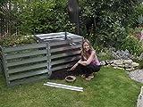 FARMERS FUN Metall Komposter Erweiterung 700 L, feuerverzinkt, beliebig erweiterbar -