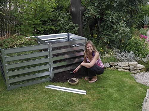 FARMERS FUN Metall Komposter Erweiterung 700 L, feuerverzinkt, beliebig erweiterbar