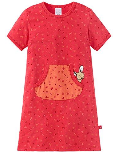 Schiesser Mädchen Nachthemd 1/2, (rot 500), 104